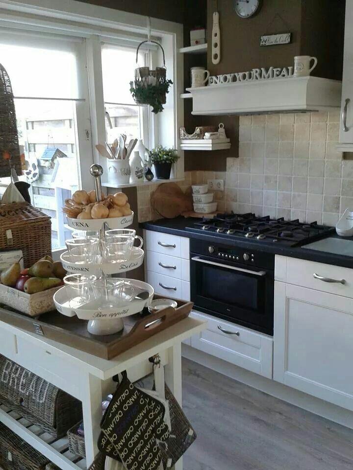 Riviera Maison keuken. *LOVIN' this, or similar, for our kitchen remodel.