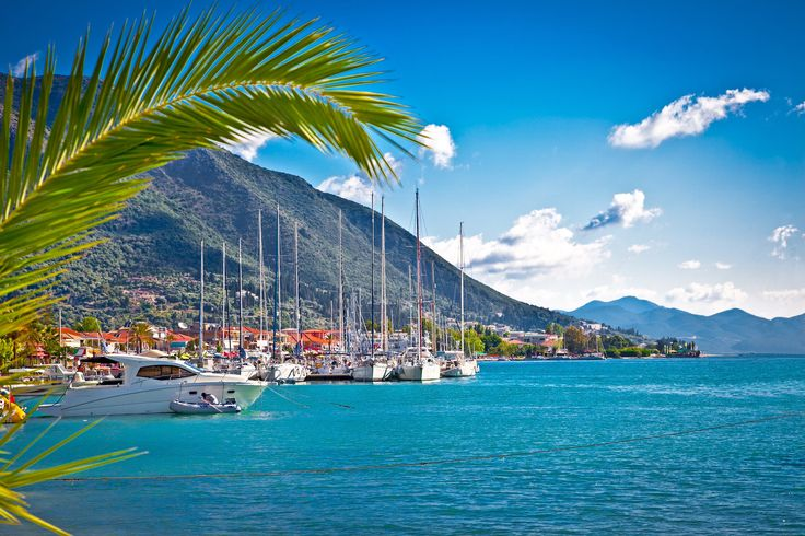 Lefkada makes a great destination on a HELM sailing holiday.