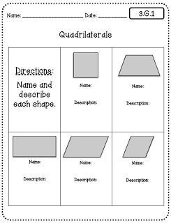 Common Core Worksheets (3rd Grade Edition) to pair with Interactive Math Notebooks