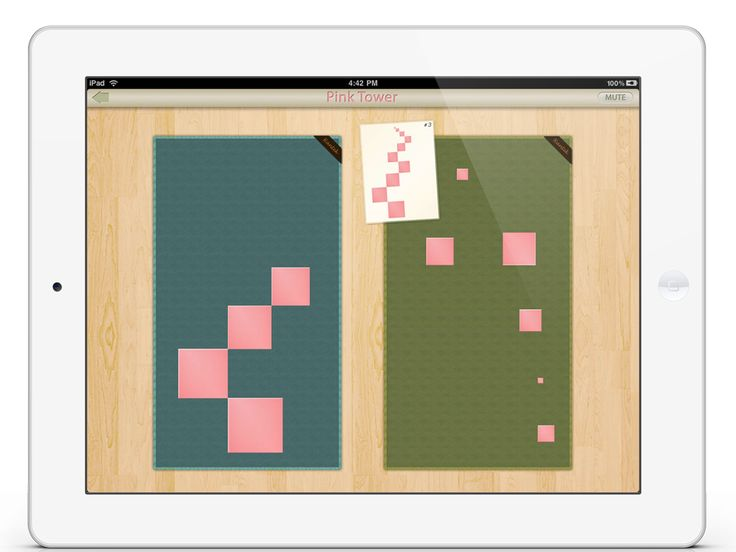 Pink Tower app by Mobile Montessori