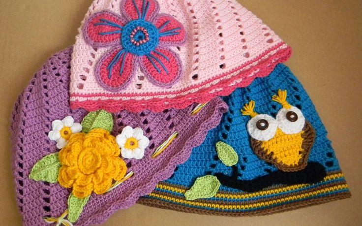 Kreatywna Pszczoła: Czapki bawełniane w różnych rozmiarach