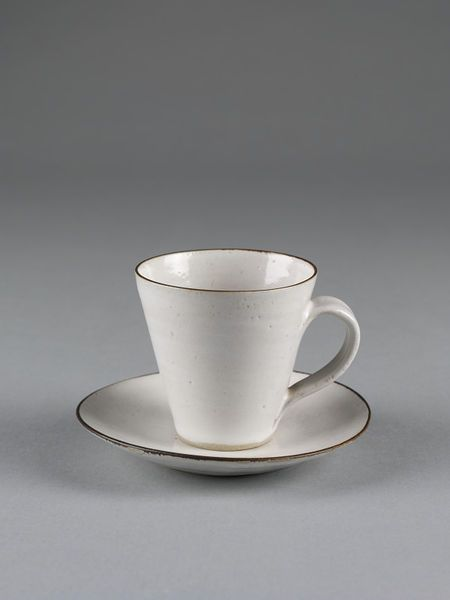 Cup and saucer | Rie, Lucie | V&A Search the Collections