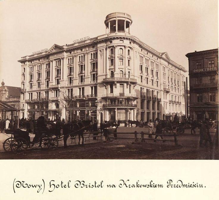 Krakowskie Przedmieście - Hotel Bristol.