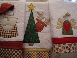 Resultado de imagen para labores de liliana toallas de navidad con botones
