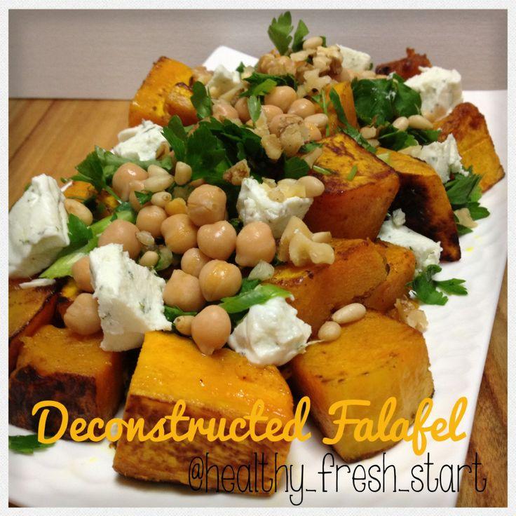 #healthyfood #salad #falafel #healthydinner #vegetarian #beautifulfood #cleanfood #cleaneating #fit
