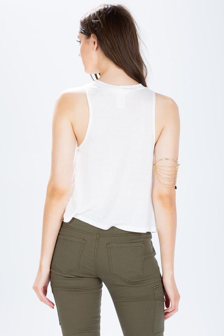 Топ Размеры: S, M, L Цвет: кремовый Цена: 679 руб.     #одежда #женщинам #топы #коопт