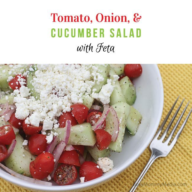 ... , and Cucumber Salad with Feta   Recipe   Dishes, Tomatoes and Summer