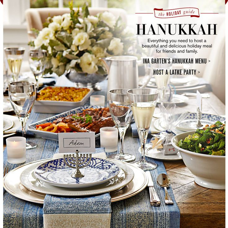 Ina Garten's Hanukkah Recipes