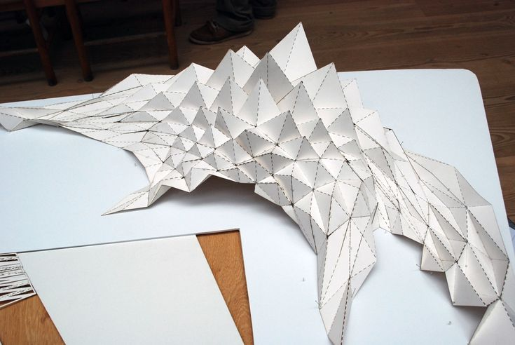 folded structures workshop oooja