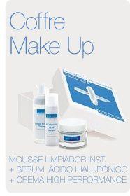 Cofre Make Up Mousse limpiadora + Sérum ácido hialurónico + Crema High Performance