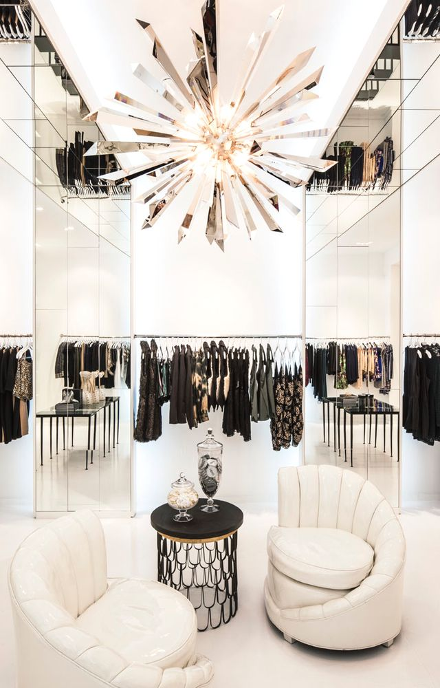 The Kardashian sisters' newest boutique. Design by Jeff Andrews. ...now go forth and share that BOW  DIAMOND style ppl! Lol ;-) xx