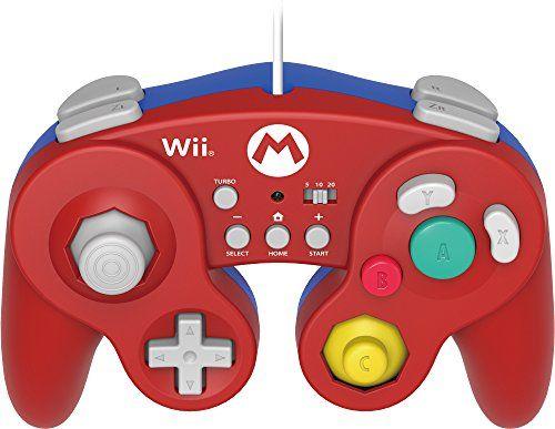 HORI HORI Battle Pad Turbo for Wii U (Mario Version): Nintendo Wii U: Computer and Video Games - Amazon.ca