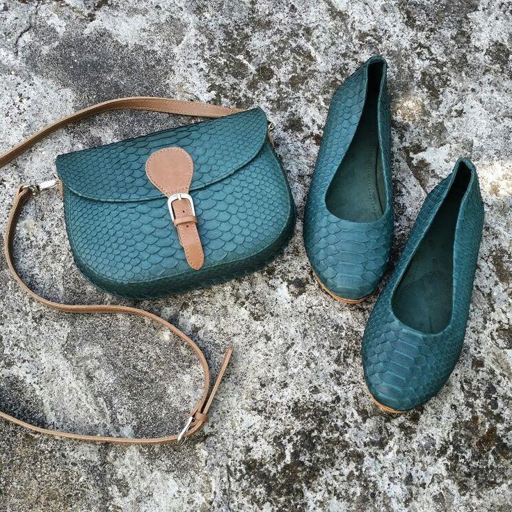 Bag minibag exclusive handmade limitededition python pythonskin snakeskin ballet