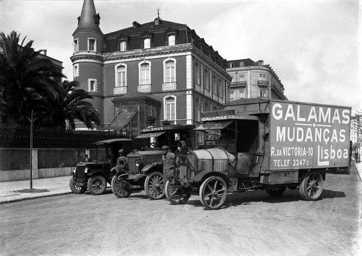 Transportes Galamas fundada em 1934 (a empresa ainda existe)