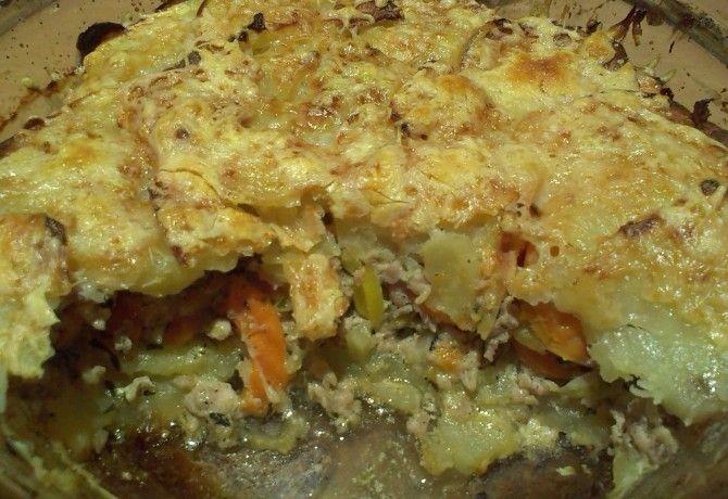 Tavaszias tepsis krumpli