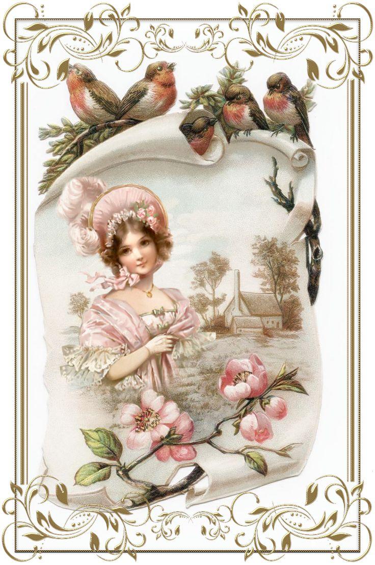 Красивые открытки с днем рождения ретро