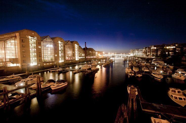 Beautiful Trondheim by night.  #visitnorway #norway