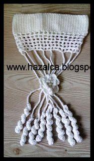 HAZALCA(yüreğimden parmaklarıma dökülenler): saç bandı