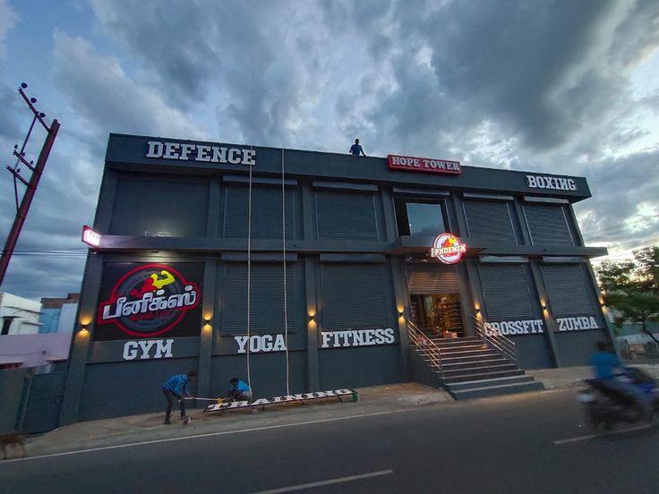Phoenix Cros Fit Unisex Gym At Madurai Gym Cros Fit Yoga Fitness