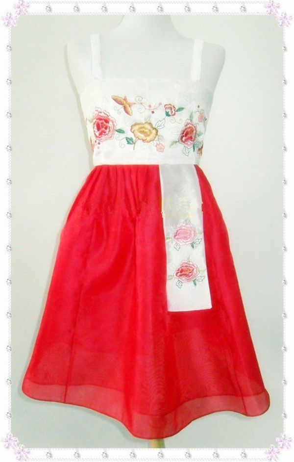 Hanbok+Dress+Custom+Made+Korean+Traditional+Woman+Hanbok+Korean+National+Costume+#Hanobk