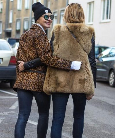 leopard eat fox or jungle in the city I rag & bone leopard jacket I men's Prada shirt I WoodWood beanie I R13 skinny jeans I Gucci fox I rag & bone jeans I #streetstyle #point41