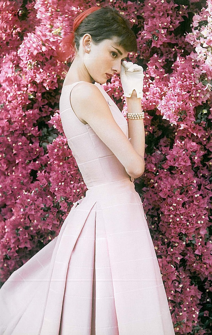 62 best audrey hepburn images on pinterest dolls breakfast at audrey hepburn is pretty in pink mightylinksfo