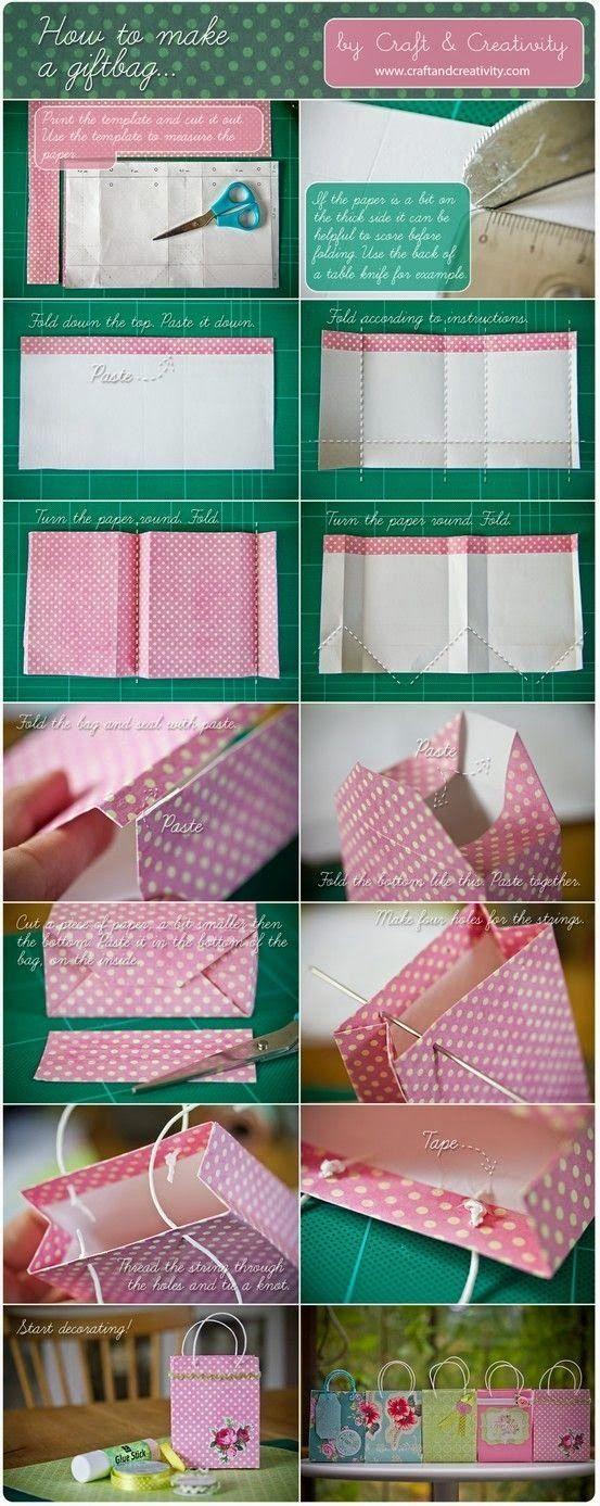 Tutoriales y DIYs: DIY - Bolsa de papel