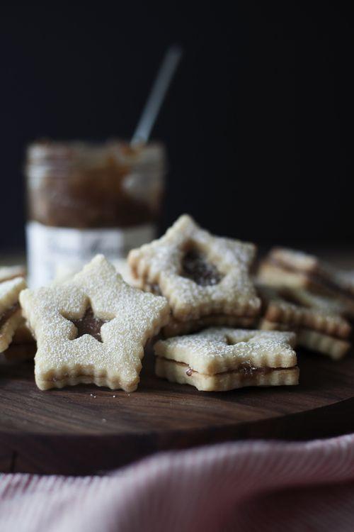 chestnut shortbread cookie