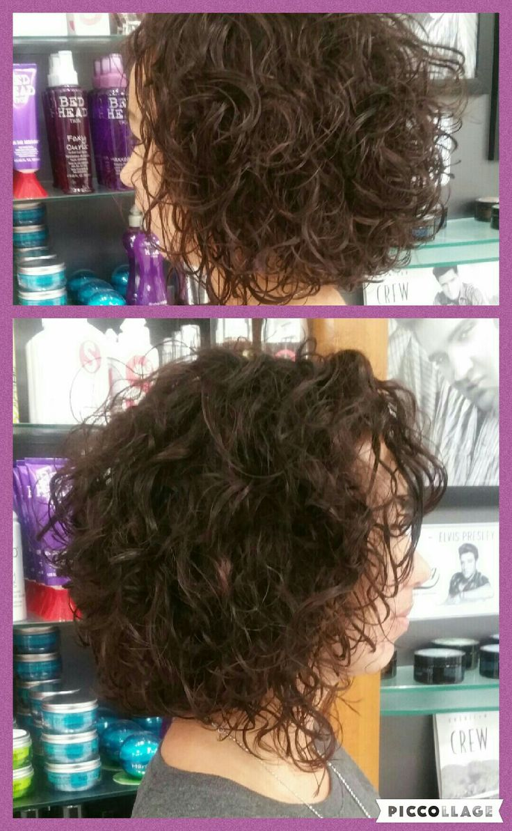 Curly #browncolor #curl #mywork