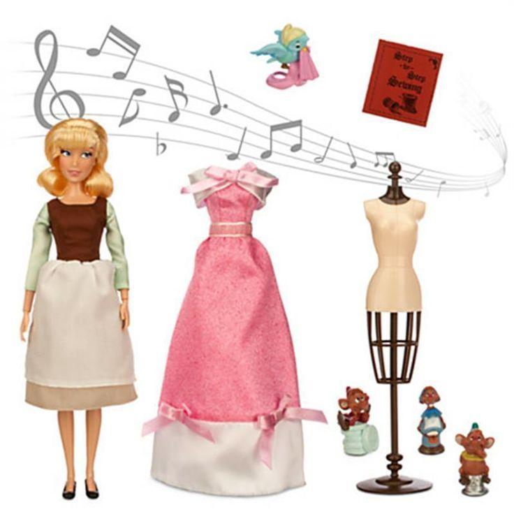 Disney Princess Cinderella Singing Doll And Costume Set: 1000+ Ideas About Disney Princess Doll Set On Pinterest