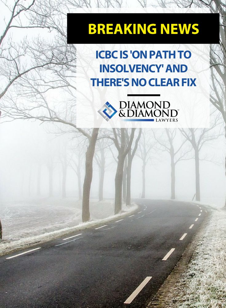 The #ICBC is facing major financial difficulties, and the government is calling for drastic rate hikes and structural changes to save it from collapse. ICBC #InsuranceRates must increase by 30% by 2019 to cover insurer's costs.