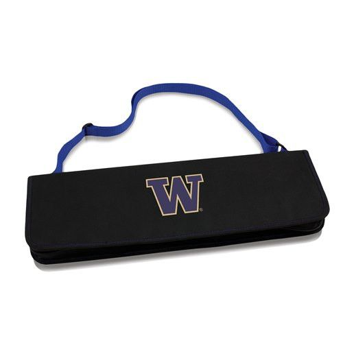 University of Washington Metro BBQ Tool Set w/Digital Print