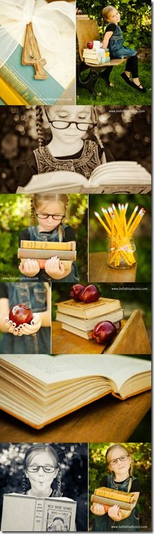 Back to School.....getting a desk from someone and going to do some cute back to school pictures next fall!! Children Photography / Photo