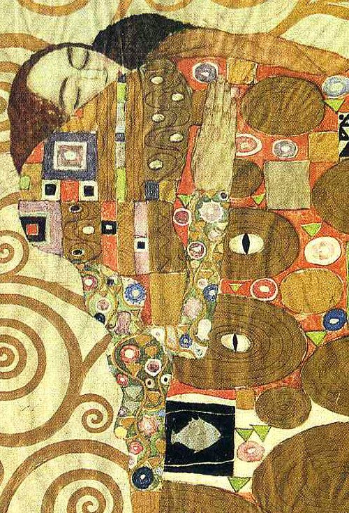 Gustav Klimt | From the Frieze of the Villa Stoclet in ...