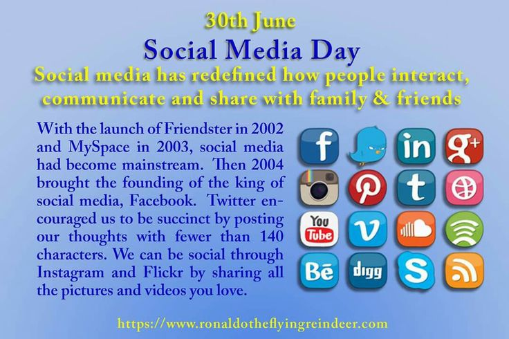 #today 30th June is #SocialMediaDay #NationalMeteorWatchDay  Social media seems to be everywhere these days. Though the days of social media pioneer Myspace are now long gone, we're constantly hearing about trending topics on Twitter, laughing at social media fails and many people are obsessive about keeping up with their Facebook news feed. Even if Facebook and Twitter aren't for you, there's still blogging, Vine, Snapchat and even LinkedIn, among many others. Even businesses have…