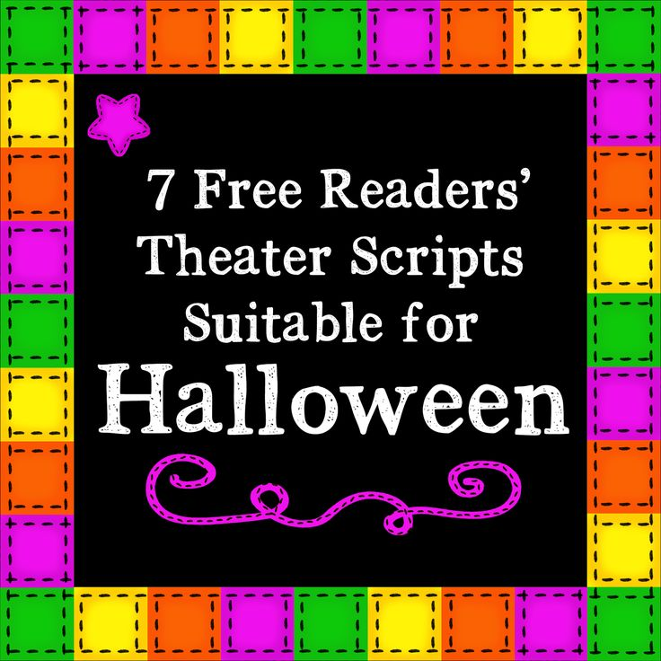 KB...Konnected Clips: 7 Free Readers' Theater Scripts for Halloween