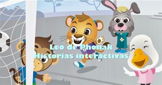 Cuentos interactivos para niños con pérdida auditiva