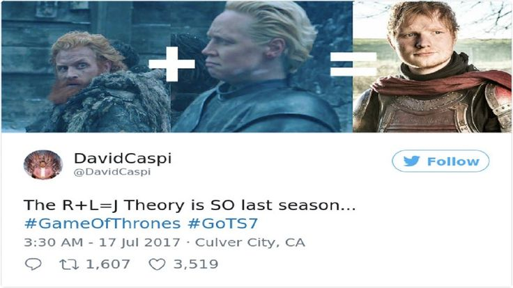 10+ Of The Most Hilarious Reactions To Ed Sheeran's Cameo In Game Of Thr...