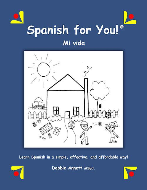 spanish for you mi vida package middle school spanish spanish worksheets and elementary spanish. Black Bedroom Furniture Sets. Home Design Ideas