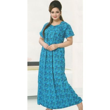 Check out our New Product  Aura Pure Cotton Printed Blue Night Wear COD Aura Pure Cotton Printed Blue Floral Design Night Wear NWPN2486SIZE :XL  ₹1,144