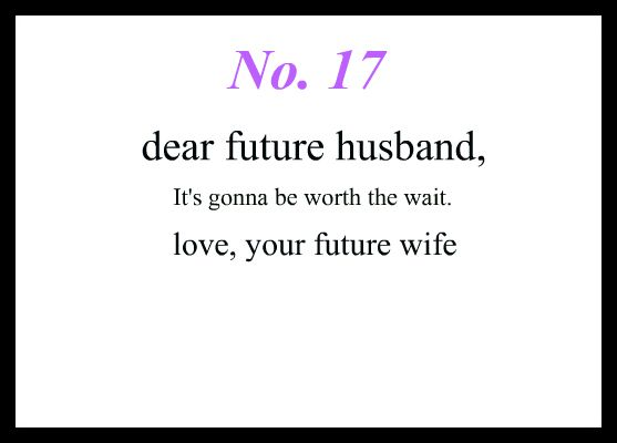true love waits ----- This honestly made me want to cry. #YES