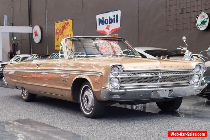 Plymouth Sport Fury 1965 Convertible  (#1701) #plymouth #sportfury #forsale #australia