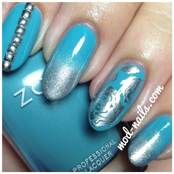 Instagram photo by  modnailsNails Nails, Art Gallery, Nails Art, Wwwnailsmagcom Nailart, Nailart Nails, Nails Ideas, Nails Polish, Aqua Nails, Nail Art