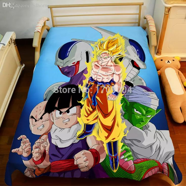 Dragon Ball Z Toddler Bedding