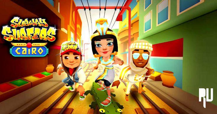 Subway Surfers é um jogo famoso para os telefones móveis inteligentes, que estão localizados no topo de 10 jogos mais quentes hoje.