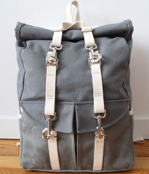 Canvas Roll Top Backpack, Version 2.0