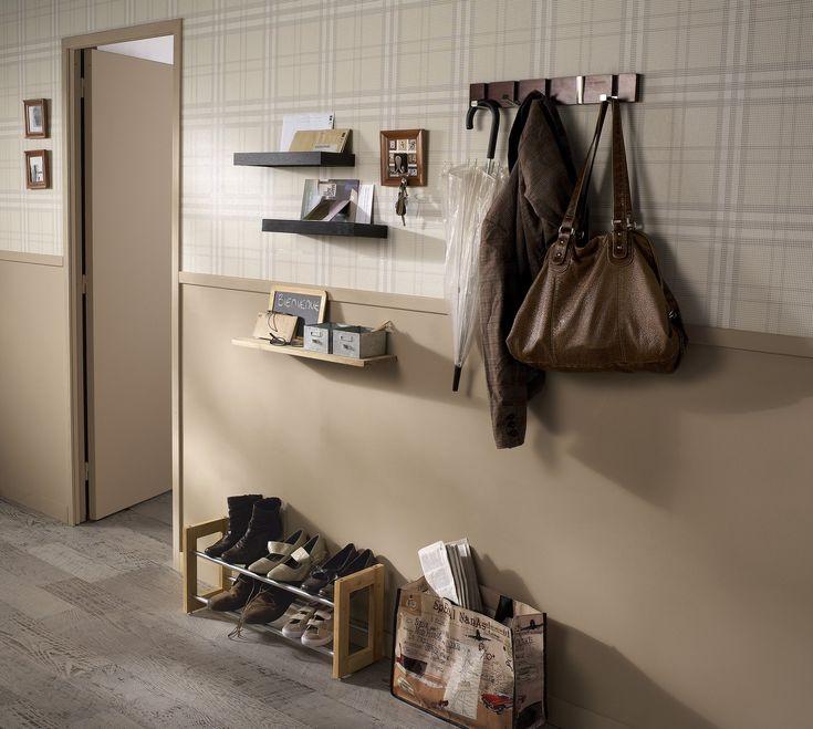 Flambant neuf 47 best Entrée et couloir images on Pinterest   Bedrooms, Entryway  YI15