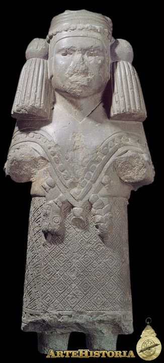 Diosa Chalchiuhtlicue. Cultura Azteca (México) Autor: Fecha: 1325-1521