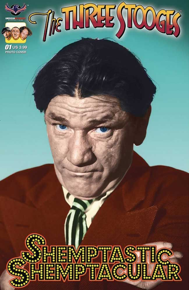 The comic book The Three Stooges fans have been waiting for. Shemp the man, the myth, the legend!