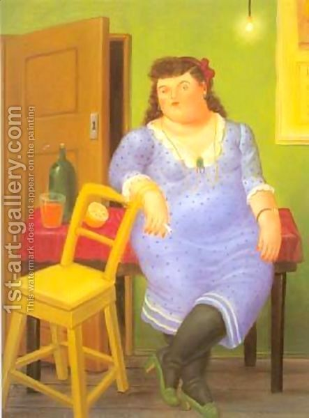 Fernando Botero:Interior 1994